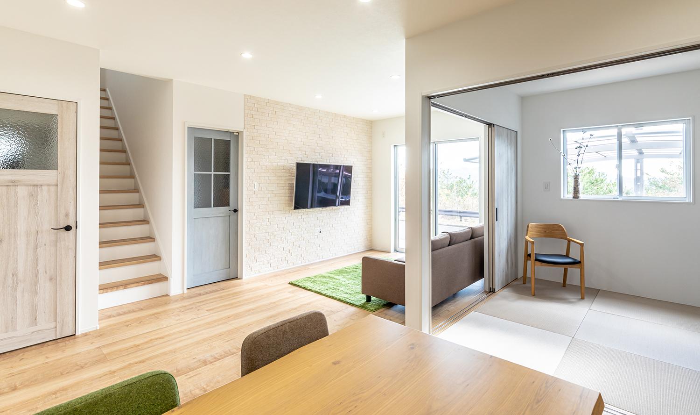 写真:住宅の内装