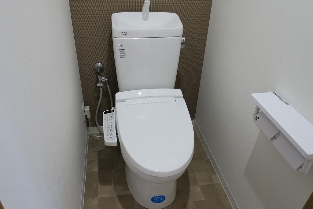 トイレもリフォーム!